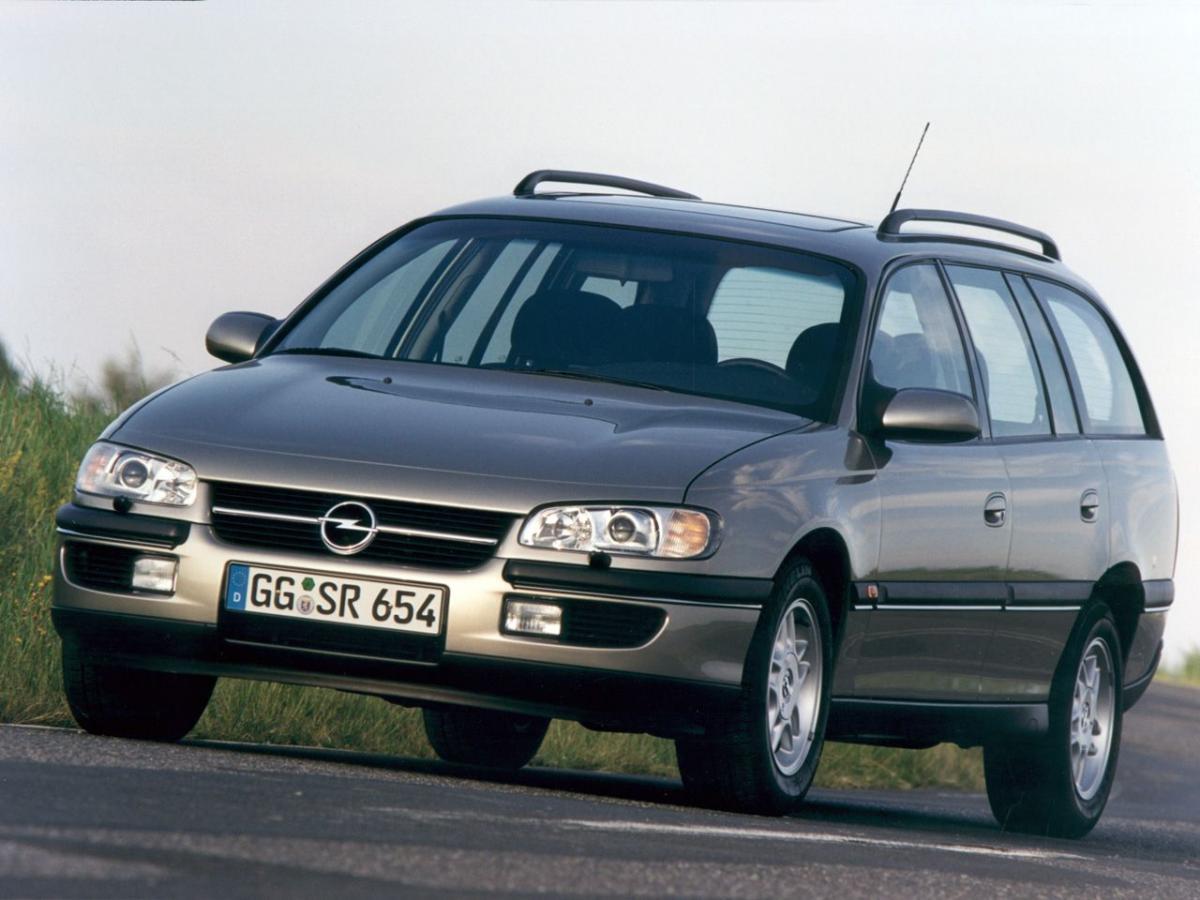 opel omega b caravan facelift